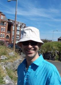 Andrei on a seaside Lytham next to Preston