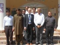 Academic staff of the Mathematics Department at SALU