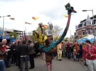 Dutch celebrate the last Queen's day