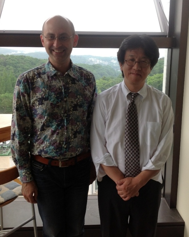 After the Seminar, next to Toshihiro's office