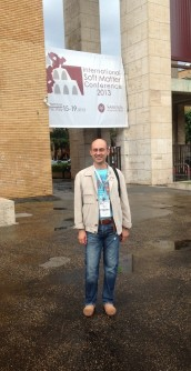 A rainy day before the conference start
