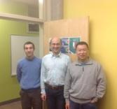 With David Wang (R)