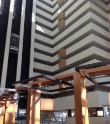 Inside of the hotel