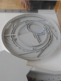 Model of Synchrotron of Soleil